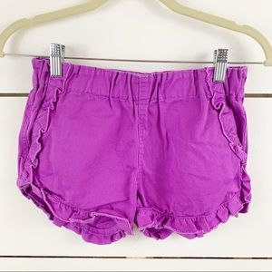 CREWCUTS New Ruffle Trim Shorts Size 12